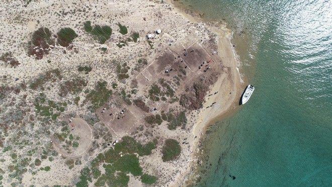 Δεσποτικό: Αεροφωτογραφία των κτιρίων στο Τσιμηντήρι