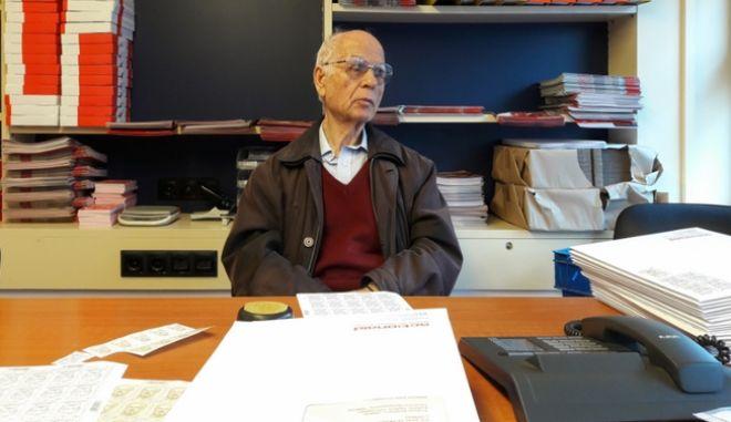 Εθελοντής ετών 83