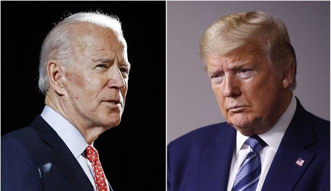 Τραμπ εναντίον Μπάιντεν