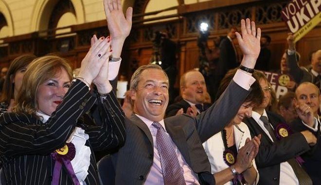 Νάιτζελ Φάρατζ: Επόμενος στόχος οι βουλευτικές εκλογές