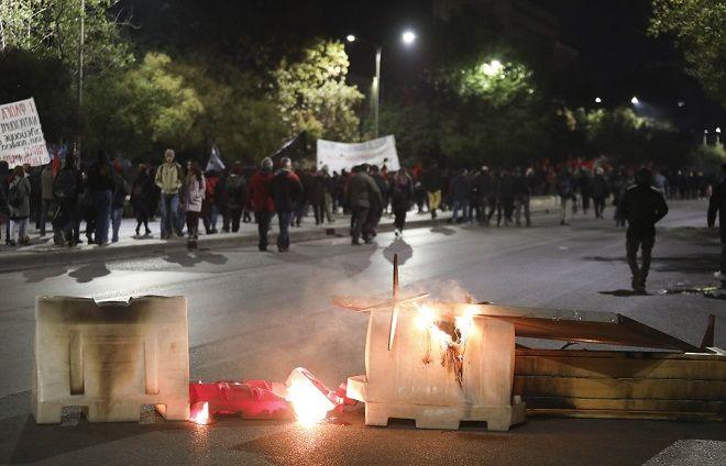 Επέτειος Πολυτεχνείου: Επεισόδια και στην Θεσσαλονίκη