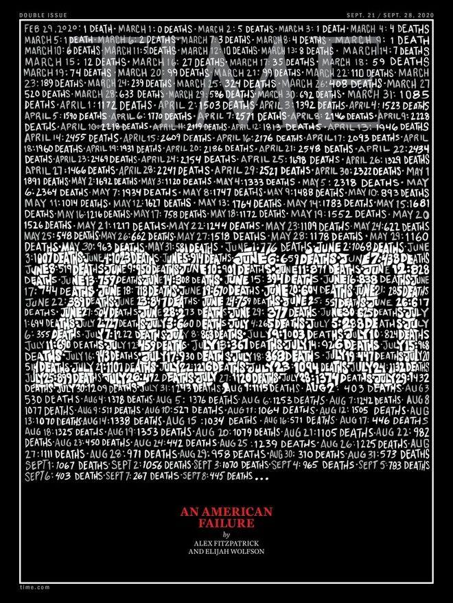 Με μαύρο εξώφυλλο το TIME για δεύτερη φορά στην ιστορία