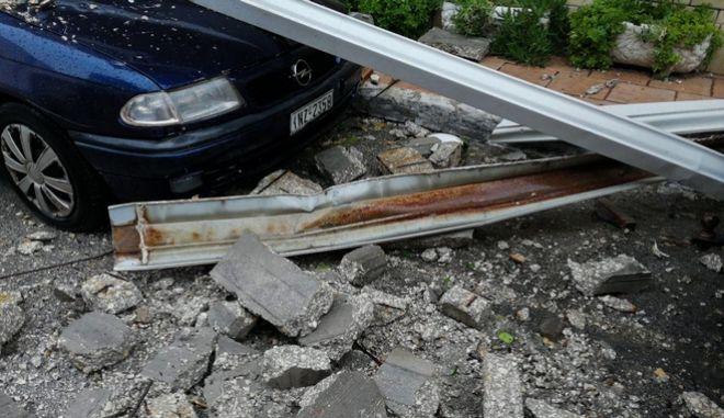 """Καταστροφές στην Ζάκυνθο από το πέρασμα της κακοκαιρίας """"Ιανός"""""""