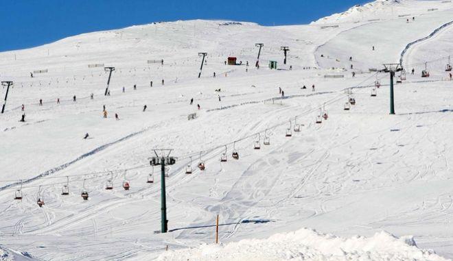 Το χιονοδρομικό κέντρο του Καιμάκτσαλαν