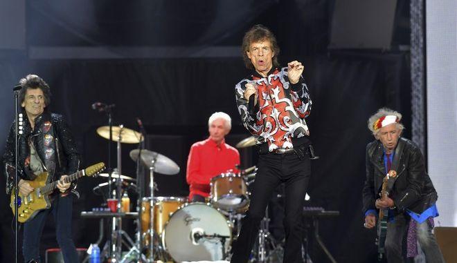 Οι Rolling Stones σε συναυλία τους στο Λονδίνο τον Μάιο του 2018