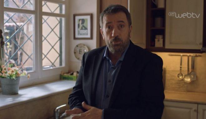 """Σπύρος Παπαδόπουλος: """"Δεν πήρα αμοιβή για το σποτάκι του Μένουμε Σπίτι"""""""
