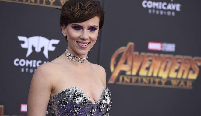"H Scarlett Johansson στην πρεμιέρα της ταινίας ""Avengers: Infinity War"" στο Los Angeles"