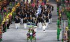LIVE ΕΙΚΟΝΑ: Η ΕΟΕ τιμά τους αθλητές της ελληνικής ολυμπιακής αποστολής