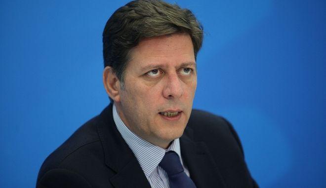 ΑΘΗΝΑ-Συνέντευξη Τύπου του Προέδρου της Οργανωτικής Επιτροπής του 10ου Τακτικού Εθνικού Συνεδρίου της ΝΔ  Μιλτιάδη Βαρβιτσιώτη.(Eurokinissi-ΠΑΝΑΓΟΠΟΥΛΟΣ ΓΙΑΝΝΗΣ)
