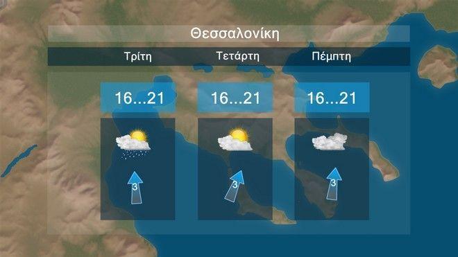 Πρόσκαιρη βελτίωση την Τρίτη - Νέες βροχές από την Πέμπτη