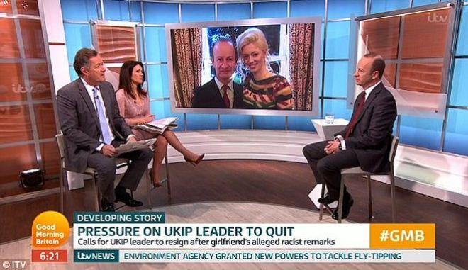 Βρετανία: Ο ηγέτης του UKIP δεν παραιτείται αλλά... χωρίζει μετά τα ρατσιστικά σχόλια για την Μέγκαν Μαρκλ