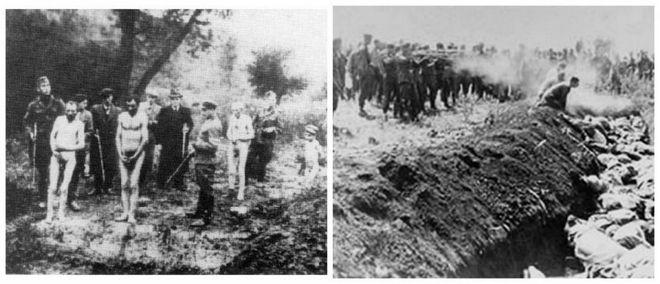 Μηχανή του Χρόνου: Η χαράδρα της ντροπής. Πώς οι Ναζί εκτέλεσαν χιλιάδες Ουκρανούς Εβραίους
