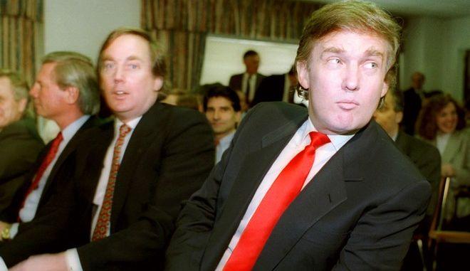 Ντόναλντ και Ρόμπερτ Τραμπ (AP Photo)