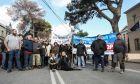 Λέσβος - Διαμαρτυρία κατοίκων της Μόριας