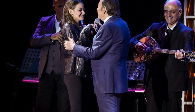 Τόλης Βοσκόπουλος: Η τελευταία εμφάνιση επί σκηνής μαζί με την κόρη του, Μαρία