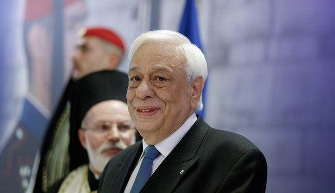 Ο Πρόεδρος της Δημοκρατίας, Προκόπης Παυλόπουλος