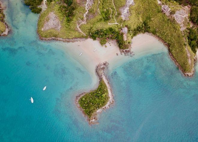 Πανοραμική εικόνα από το νησί της Μαδαγασκάρης και το location όπου θα διεξαχθεί το Nomads