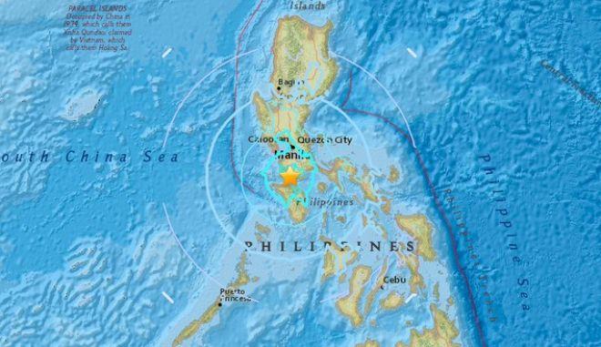 Σεισμός: 6,9 Ρίχτερ στις Φιλιππίνες - Προειδοποίηση για τσουνάμι