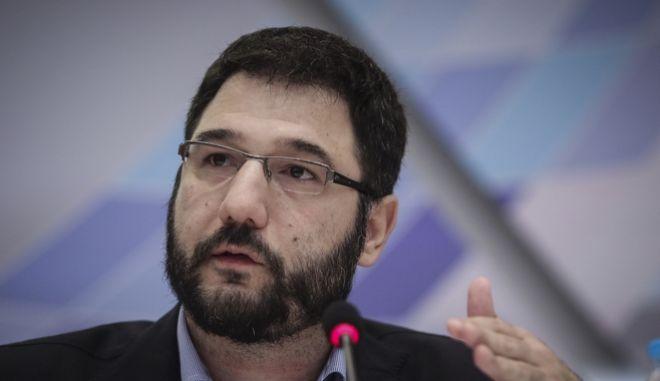 O Υφυπουργός Εργασίας, Νάσος Ηλιόπουλος