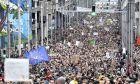 Διαδήλωση για την κλιματική αλλαγή στις Βρυξέλλες
