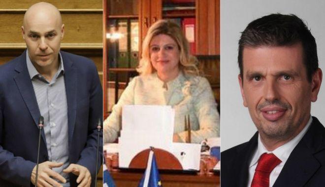 Αμυράς, Αράχωβα και Καιρίδης θα είναι υποψήφιοι με τη ΝΔ στις εθνικές εκλογές