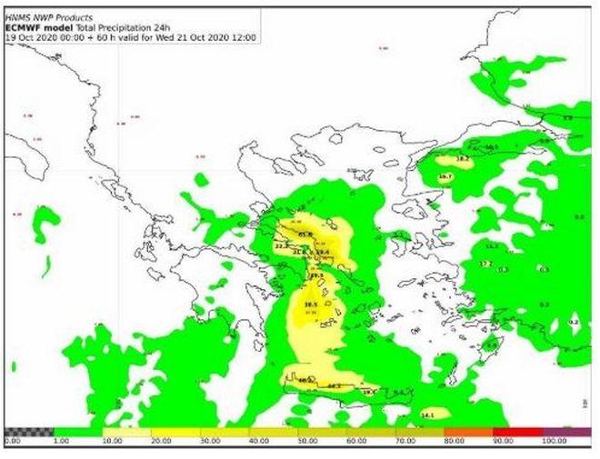 Έκτακτο Δελτίο Επιδείνωσης Καιρού: Πού αναμένονται βροχές και καταιγίδες