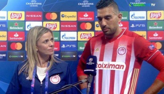 Συγκινημένος ο Χασάν, αφιέρωσε το γκολ στον πατέρα του που έφυγε πριν από 5 χρόνια