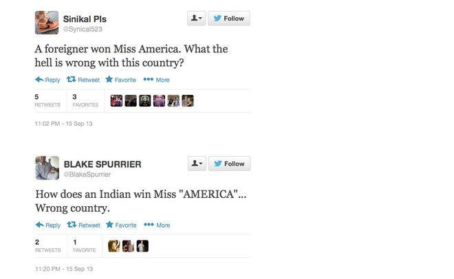 Ρατσιστικό παραλήρημα για την Ινδικής καταγωγής Miss America