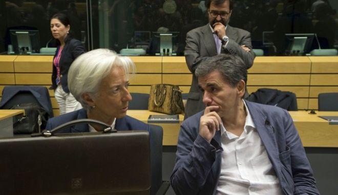 Τεχνική συμφωνία και χρέος συζήτησαν Τσακαλώτος - Λαγκάρντ