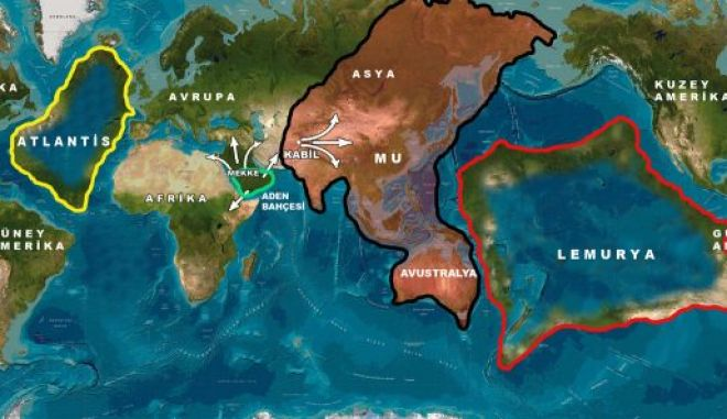 Μηχανή του Χρόνου: Η Ατλαντίδα δεν είναι η μόνη χαμένη ήπειρος