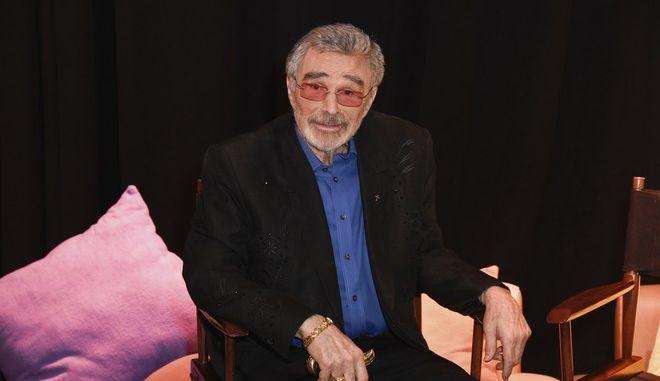 Ο θρυλικός ηθοποιός Burt Reynolds