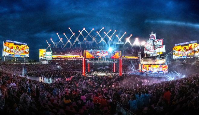 WrestleMania: Πάνω από 25.000 θεατές σε αγώνες wrestling