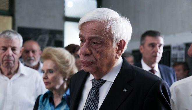 Ο Πρόεδρος της Δημοκρατίας Προκόπης Παυλόπουλος