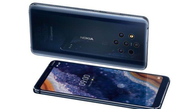 Smartphone με 5 κάμερες παρουσίασε η Nokia