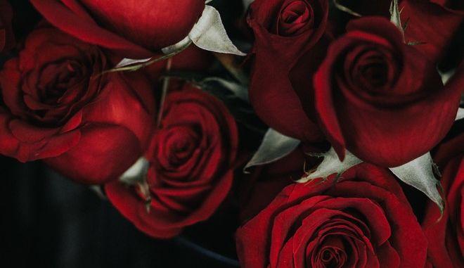 Τριαντάφυλλα για τη γιορτή του Αγίου Βαλεντίνου