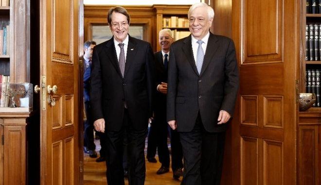 Νίκος Αναστασιάδης - Προκόπης Παυλόπουλος