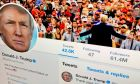 Το Twitter διέγραψε λογαριασμούς που συνδέονταν με τον Ντόναλντ Τραμπ