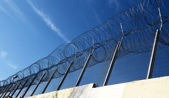 Στιγμιότυπο από τις γυναικείες φυλακές στον Ελαιώνα Θηβών. (EUROKINISSI/Τατιάνα Μπόλαρη)