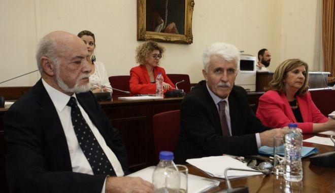 Διάσκεψη των προέδρων της Βουλής με μέλη του ΕΣΡ την Πέμπτη 11 Μαΐου 2017. (EUROKINISSI/ΓΙΩΡΓΟΣ ΚΟΝΤΑΡΙΝΗΣ)
