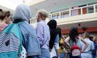 Προσφυγόπουλα στο σχολείο (αρχείου)