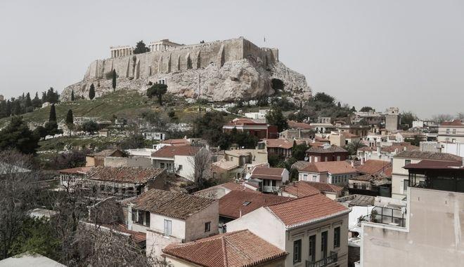 Αφρικανική σκόνη πάνω από την Αθήνα