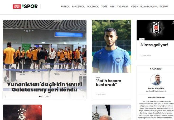 Η αναφορά της Habertürk στο περιστατικό με τη Γαλατασαράι στο