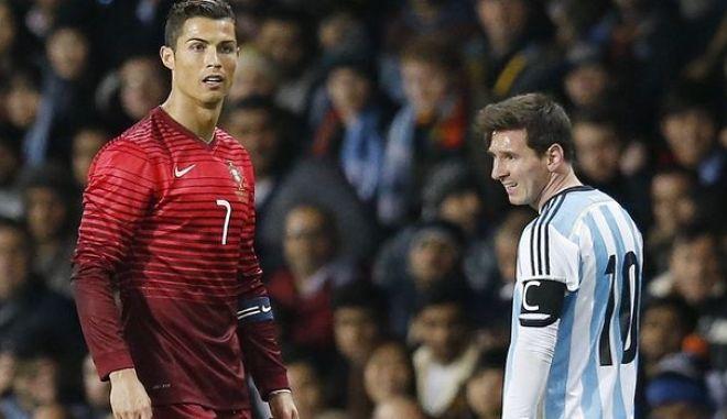 Κριστιάνο Ρονάλντο και Λιονέλ Μέσι αποχαιρέτισαν το Σάββατο το Παγκόσμιο Κύπελλο Ποδοσφαίρου