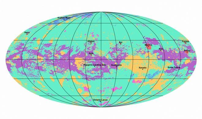 Χάρτης Τιτάνα