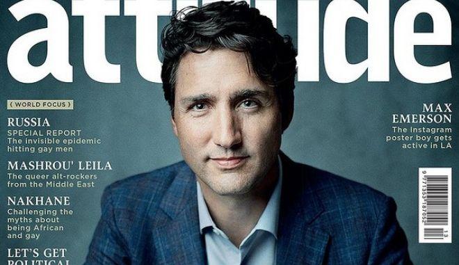 Τζάστιν Τριντό: Ο πρώτος Καναδός πρωθυπουργός που φωτογραφήθηκε για LGBT περιοδικό