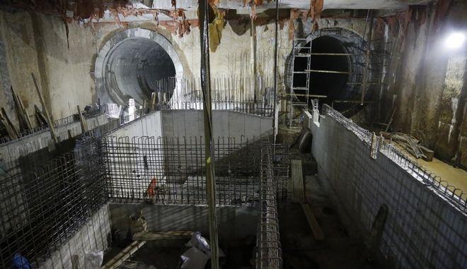 Εργασίες κατασκευής στο Μετρό