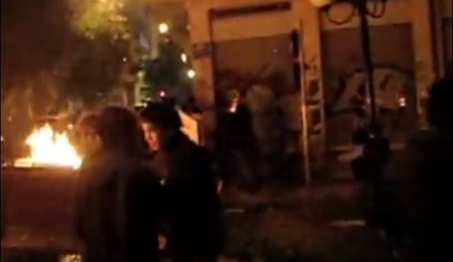 Βίντεο ντοκουμέντο λίγα λεπτά μετά τη δολοφονία Γρηγορόπουλου στα Εξάρχεια