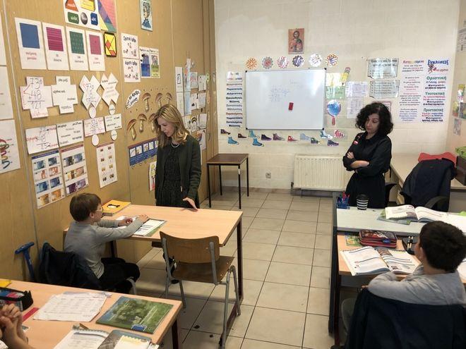 Στις Βρυξέλλες η Μ. Τζούφη για το Συμβούλιο Παιδείας της ΕΕ