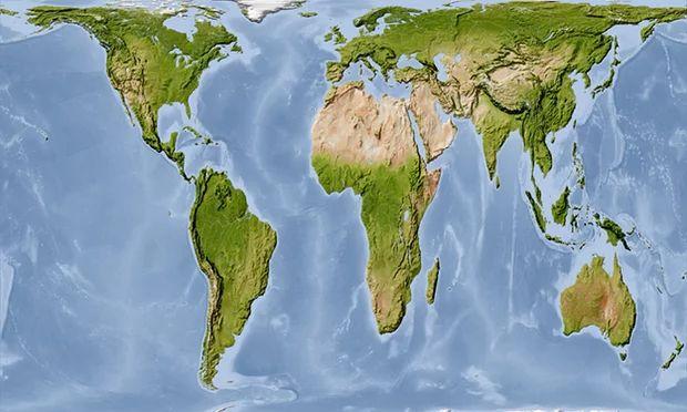 Χάρτης: Και όμως, η Γη που μας δείχνουν στο σχολείο, είναι λάθος