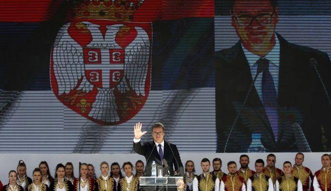 Ο πρόεδρος της Σερβίας
